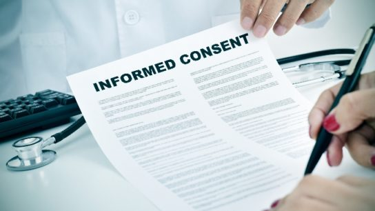 Obtaining informed consent is crucial in medical research.