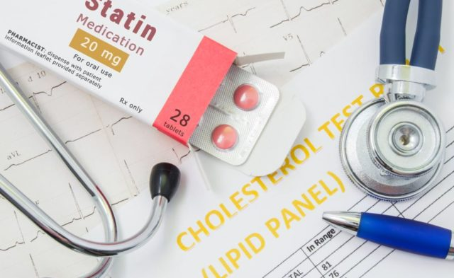 Statin therapy concent photo