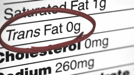 Trans Fat Consumption May Impair Memory