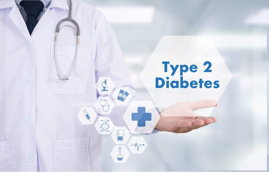 Type 2 diabetes medical concept