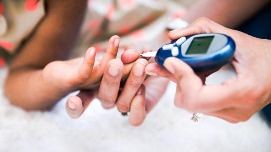 type 1 diabetes glucose test