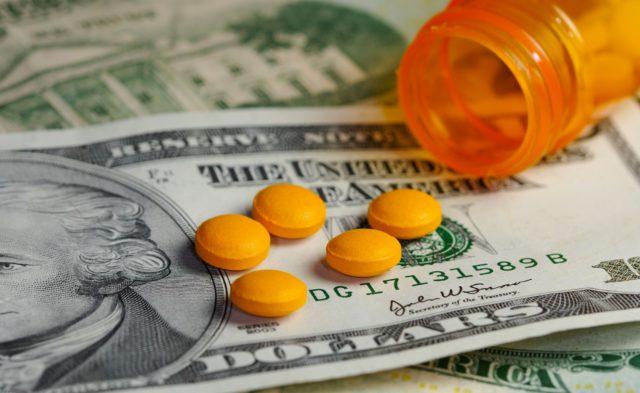 Medicine, Money, Pills,