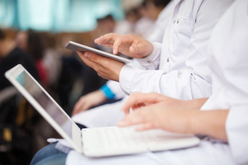 Physicians using technology