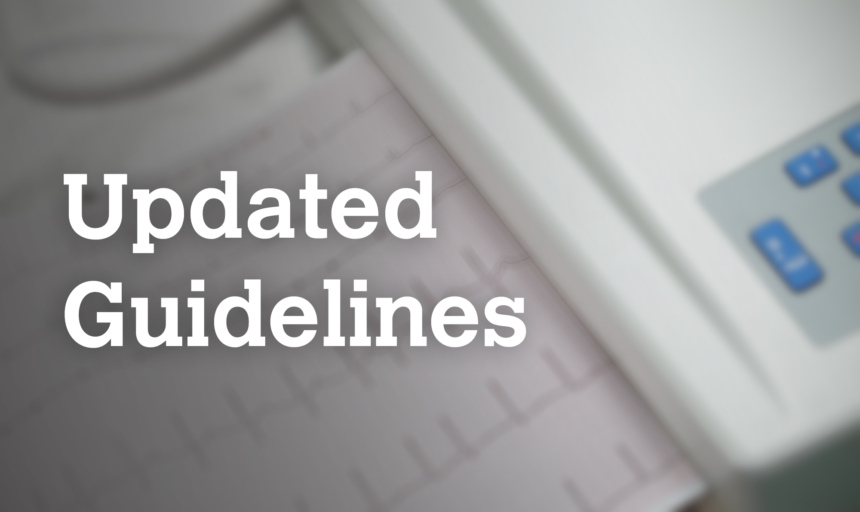 Updated guidelines, Afib
