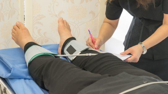 ankle brachial index
