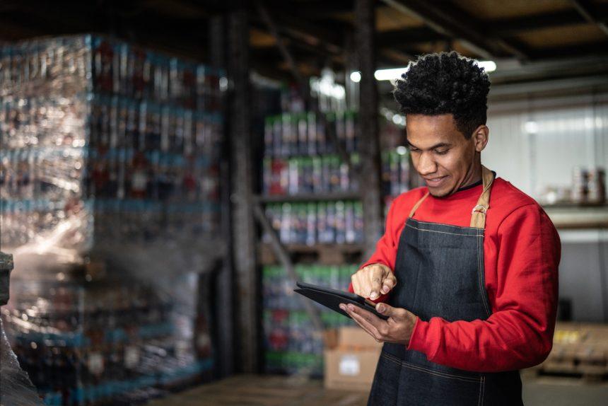 warehouse shift worker