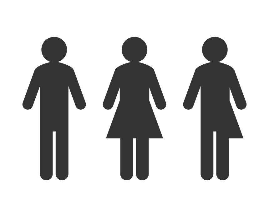 Transgender or unisex icons